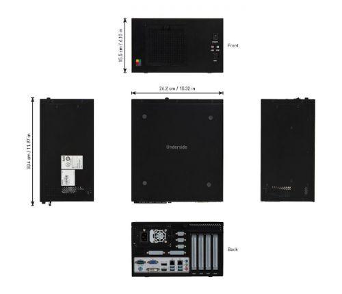 ordinateur industriel extensible vision matrox - 4Sight XV6 dimensions