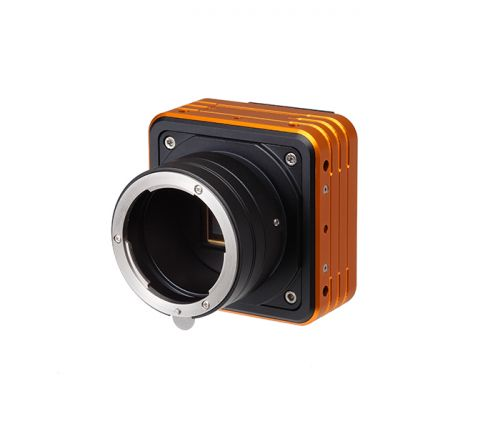 camera cxp 12mp 181fps - IC X25B CL Front Angle