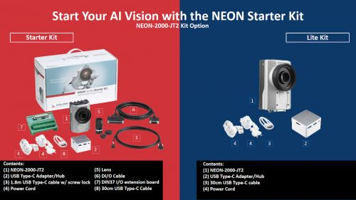 smart camera ia nvidia jetson adlink - NEON 2000 JT2 Kit Option