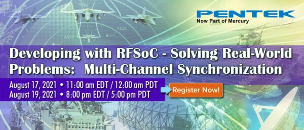 Webinar Pentek - Applications RFSoC : Synchronisation multivoies