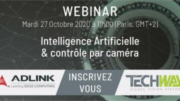 IA et contrôle par caméra - Webinar IA ADLINK