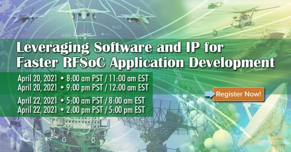 Webinar Pentek - Développement d'applications RFSoC