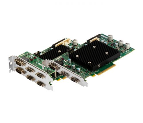 carte acquisition camera link single full dual base - matrox rapixo cl pro